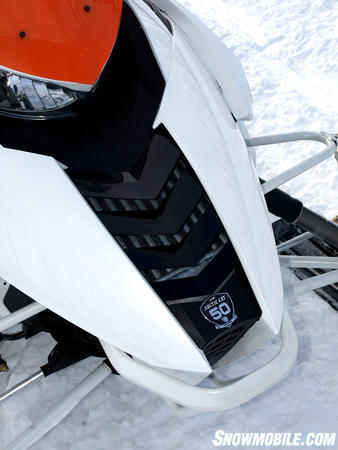 2012 Arctic Cat F1100 Turbo Ltd nose-vents