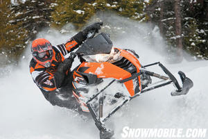 2012 Arctic Cat F1100 Turbo Ltd Orange