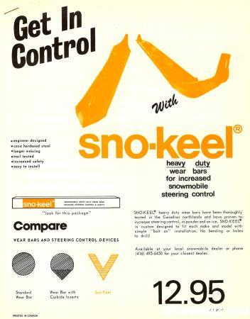 sno-keel cover