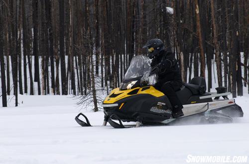 2012 Ski-Doo Skandic SWT Side