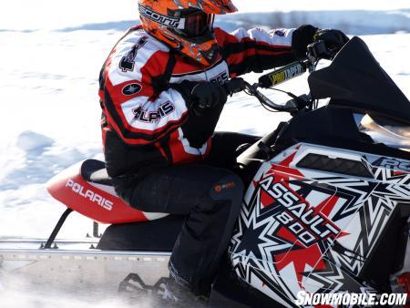 Polaris builds the Assault to grab a share of the backcountry snowmobile niche.