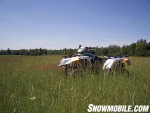 To capture performance riders, Arctic Cat came up with its one-liter Thundercat.