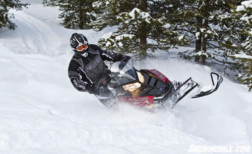 2012 Polaris 600 Switchback Action Deep Powder