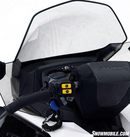 2012 Ski-Doo GSX LE 600 heater controls