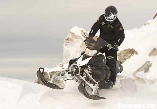 2012 Yamaha Phazer MTX Action Front