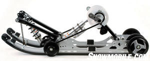 2012 Yamaha Phazer MTX Rear Suspension