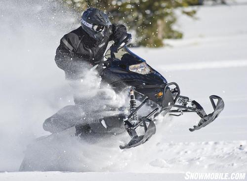 2013 Yamaha Nytro XTX 1.75 Action