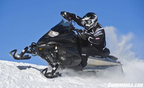 2013 Yamaha Nytro XTX 1.75 Cresting Berm