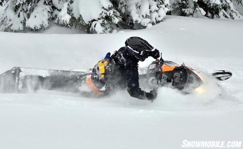 2013 Ski-Doo Summit X Carving