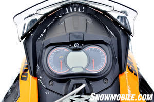 2013 Ski-Doo Summit X Glove Box