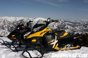 Ski-Doo XP and XM Summits