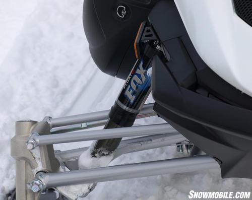2013 Yamaha Apex SE front suspension