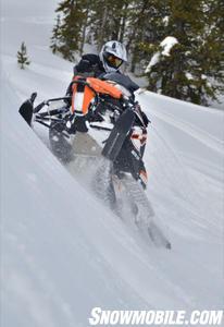 2012 Arctic Cat M800 Sidehill