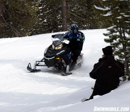 Snowmobile.com video shoot