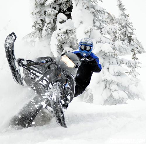 2013 Yamaha Nytro MTX Turbo Action