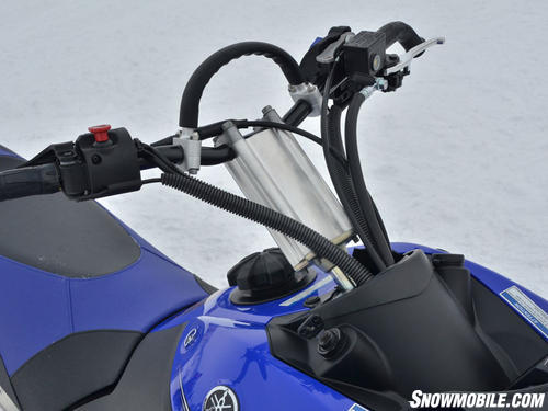2013 Yamaha Nytro MTX Turbo laydown steering post