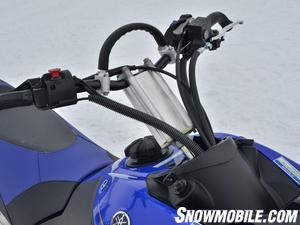 2013 Yamaha Nytro MTX Turbo laydown steering post