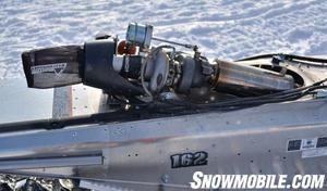 2013 Yamaha Nytro MTX Turbo MPI turbo clean unit