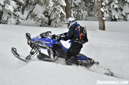 2013 Yamaha Nytro MTX Turbo Powder Player