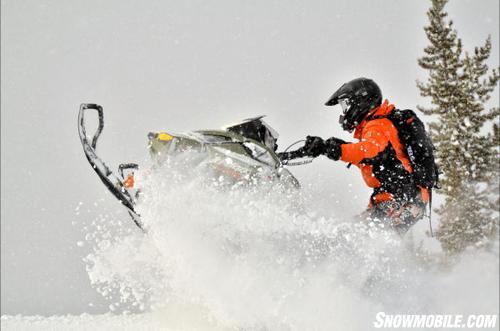 2013 Ski-Doo Freeride Berm Blasting