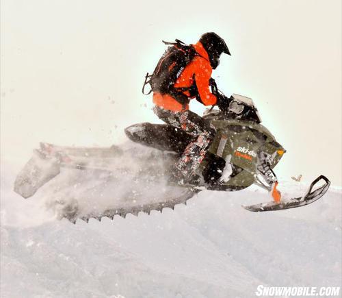 2013 Ski-Doo Freeride Cornice
