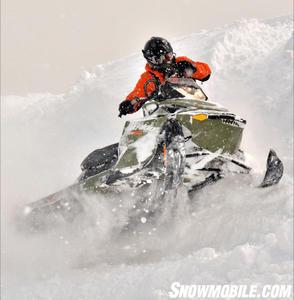 2013 Ski-Doo Freeride Sidehilling