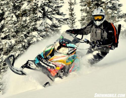 FXR Mountain Gear and Test Sled