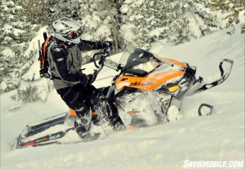 FXR Mountain Gear Powder Testing
