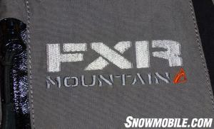 FXR Mountain Logo Label