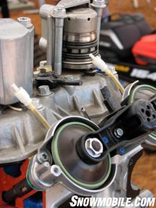 Ski-Doo E-TEC Engine