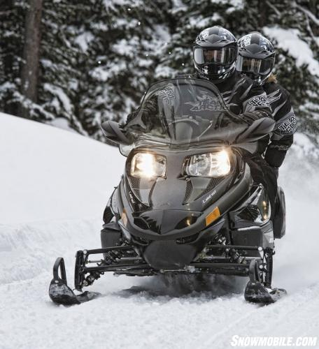 2013 Arctic Cat TZ-1 LXR Action Front