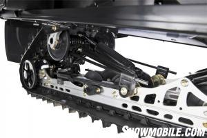2013 Arctic Cat TZ-1 LXR Rear Suspension