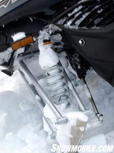 2013 Yamaha Vector Front Suspension
