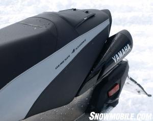 2013 Yamaha Vector Seat Exhaust