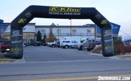 Rexburg Motor Sports Snowmobile Show Entrance