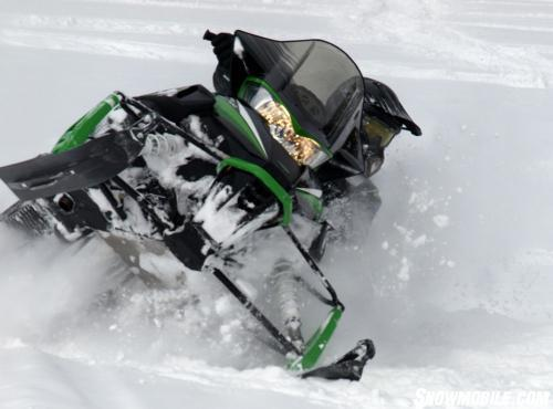 2013 Arctic Cat XF800 LXR Action