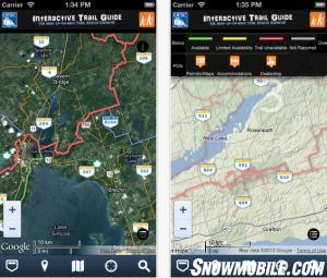 OFSC Interactive Trail Guide iPhone App