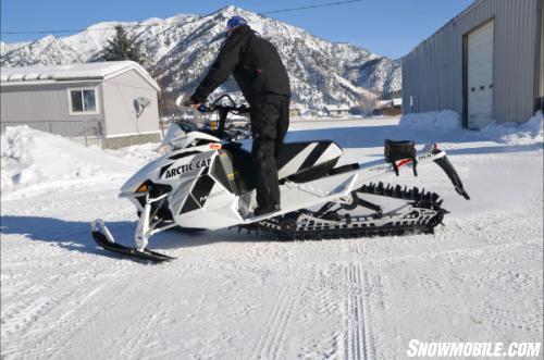 2013 Arctic Cat M8 Sno Pro Limited Turn
