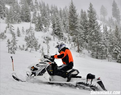2013 Arctic Cat M8 Action