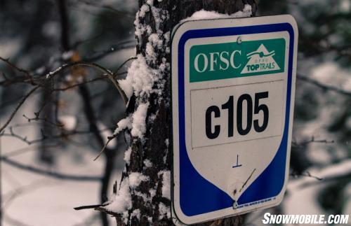 Sudbury C105 Snowmobile Trail