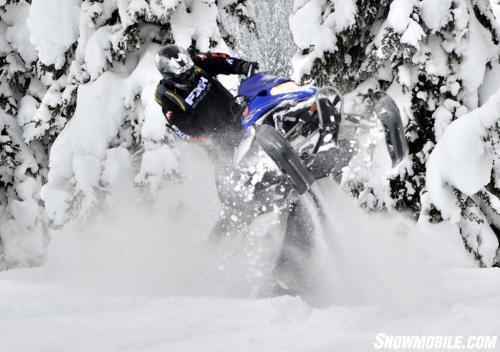 Yamaha Nytro MTX Turbo Action