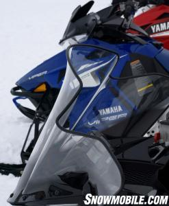 2014 Yamaha Viper Windshield