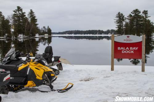 Bala Bay Snowmobiling