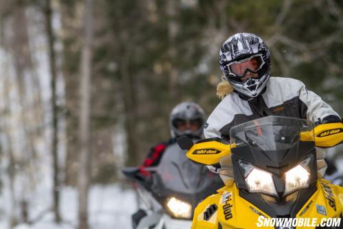 Fun On Ontario Snowmobile Trails