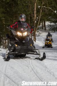 Riding Ontario Snowmobile Trails