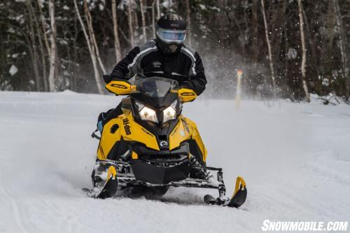 Wide Ontario Snowmobile Trails