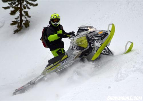 2014 Ski-Doo Freeride Karl Kuster Action