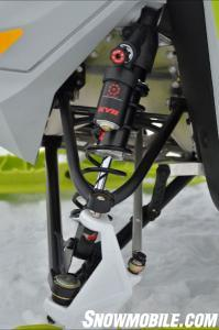 2014 Ski-Doo Freeride Front Suspension