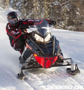2014 Polaris 800 Indy SP Action Front