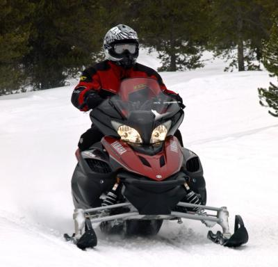 Yamaha Vector skis